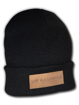LOW iS A LiFESTYLE® Classic Beanie - Black